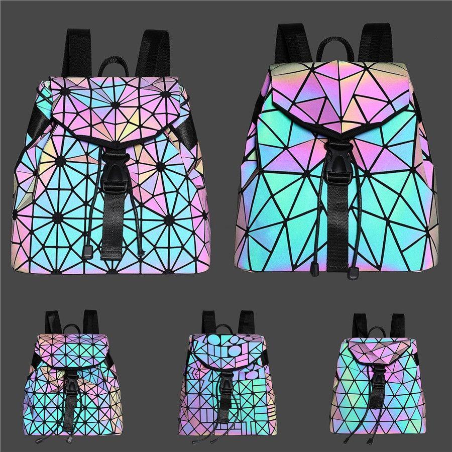 Elegant Female Bag 2020 Summer Fashion New Quality Pu Luminous Women'S Designer Handbag Lock Chain Shoulder Messenger Bag #759