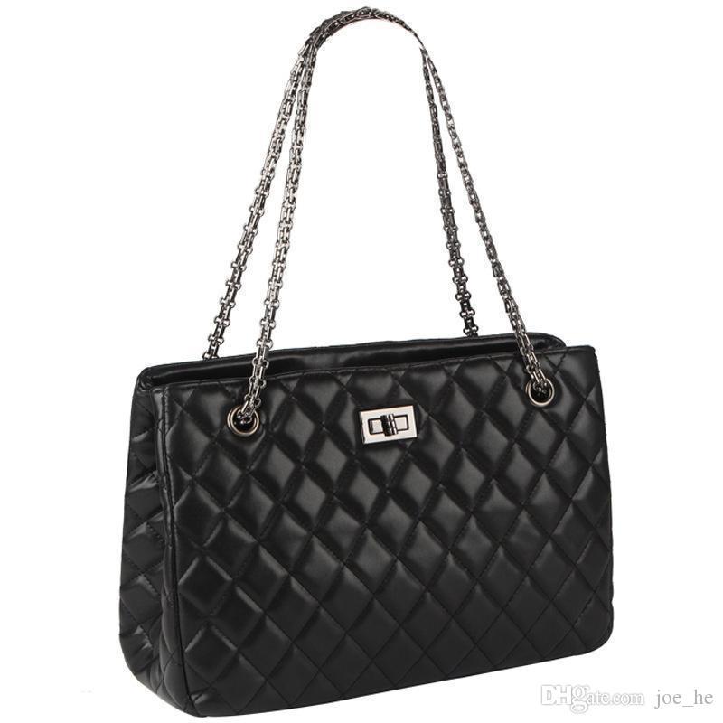 Sacs à main femmes Sacs New épaule sac femmes sac à main de mode sac de dames Forfait diagonale Lingge Sacs chaîne Femme