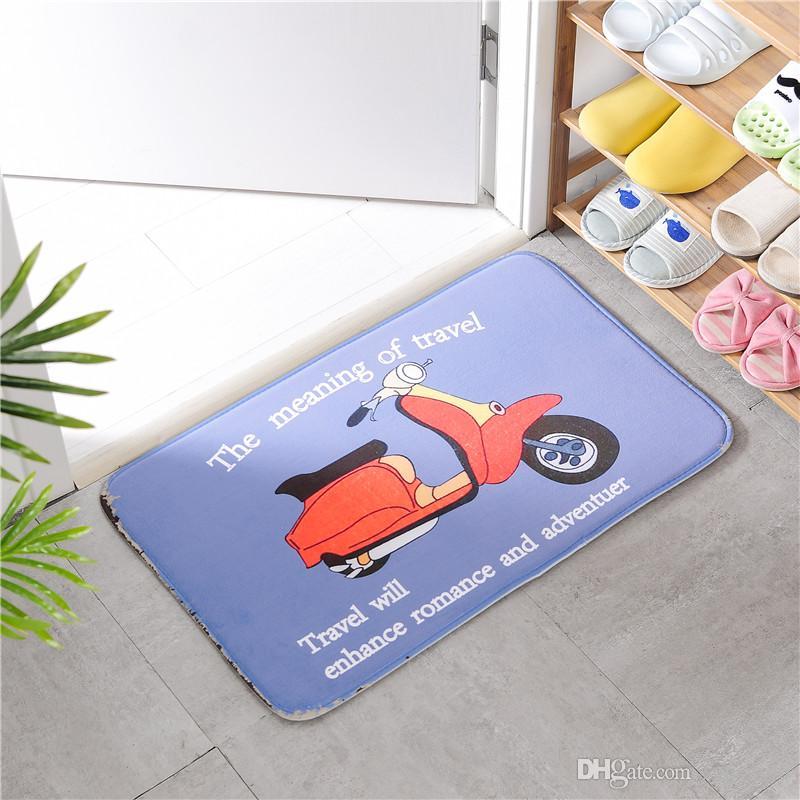 British Style Cartoon Teppiche für Bad Wohnzimmer Küche Schlafzimmer Fußmatte Startseite Teppichboden Teppiche Spielen Fußmatte 018