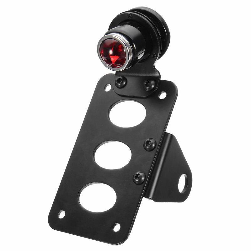 Motosiklet Montaj Aparatı ile LED Plaka Arka Lambası Sportster - Motosiklet Işıkları Motosiklet Kuyruk Dekorasyon Işıkları - 1