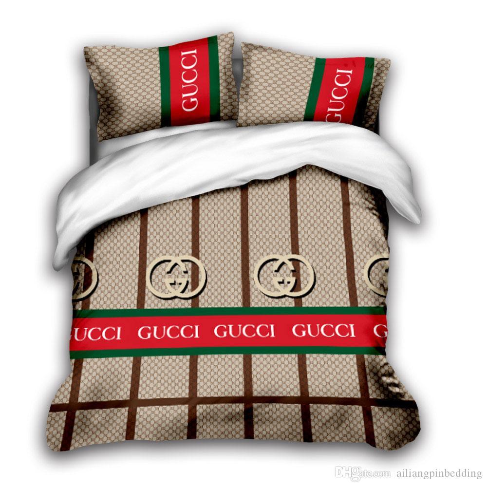 3D designer bedding sets king size luxury Quilt cover pillow case queen size duvet cover designer bed comforters sets C8