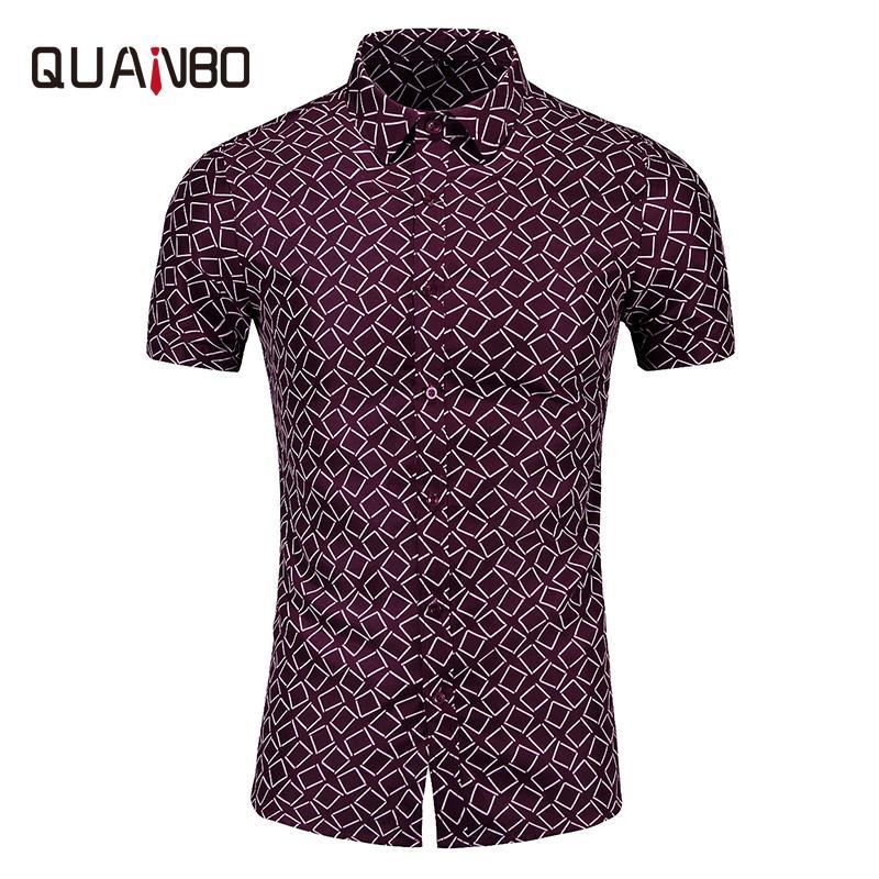 5XL 6XL 7XL Plus Size dos homens Camisas de vestido 2020 Chegada Nova Verão de manga curta Moda Imprimir Hawaiian Vacation Shirt