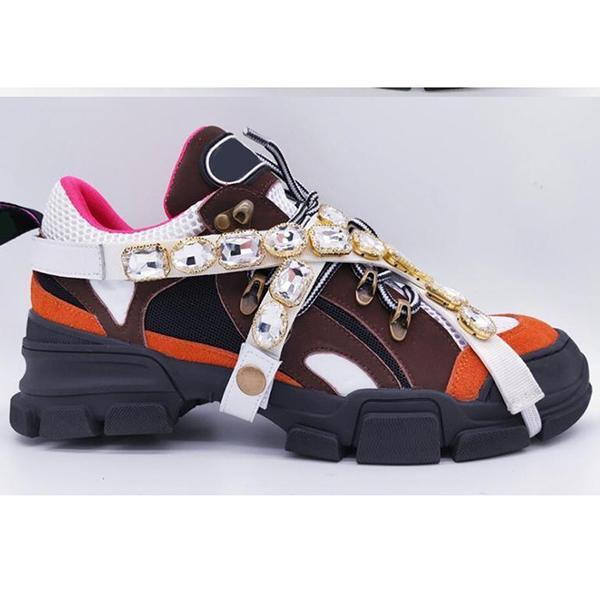 2020 scarpe casual popolari nuove donne dei pattini della piattaforma di trasporto con il sacchetto di polvere di alta qualità 35-45 ga05