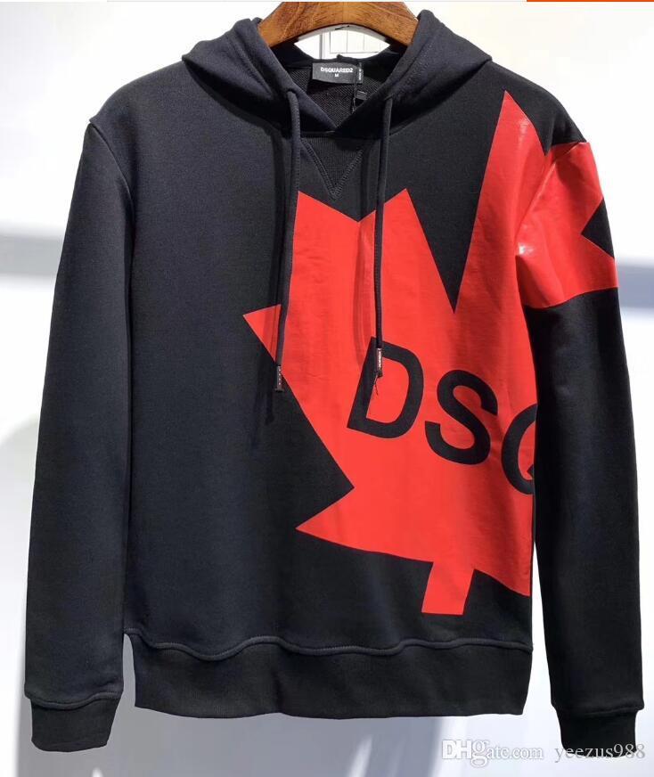 Top qualité de marque Designers hoodies pour homme Vêtements D2 rue capuchons pour hommes manches longues Sweat-shirts M-3XL DS349