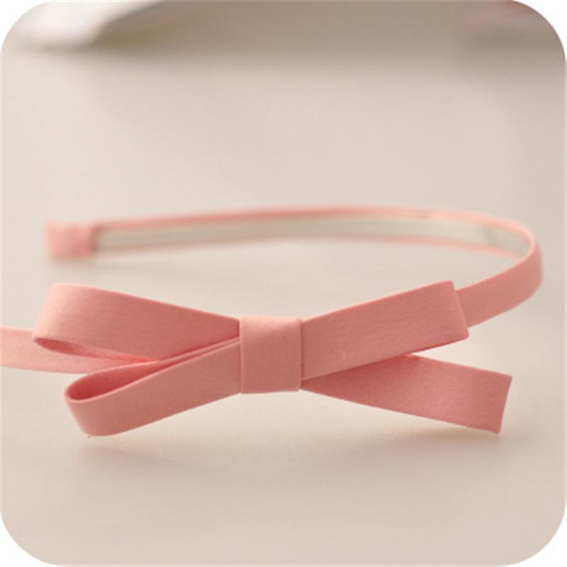 1pc Lady Fashion Headband Baby party props sexy black bows girl headwear hair hoop accessories for women Hairband kids Head band
