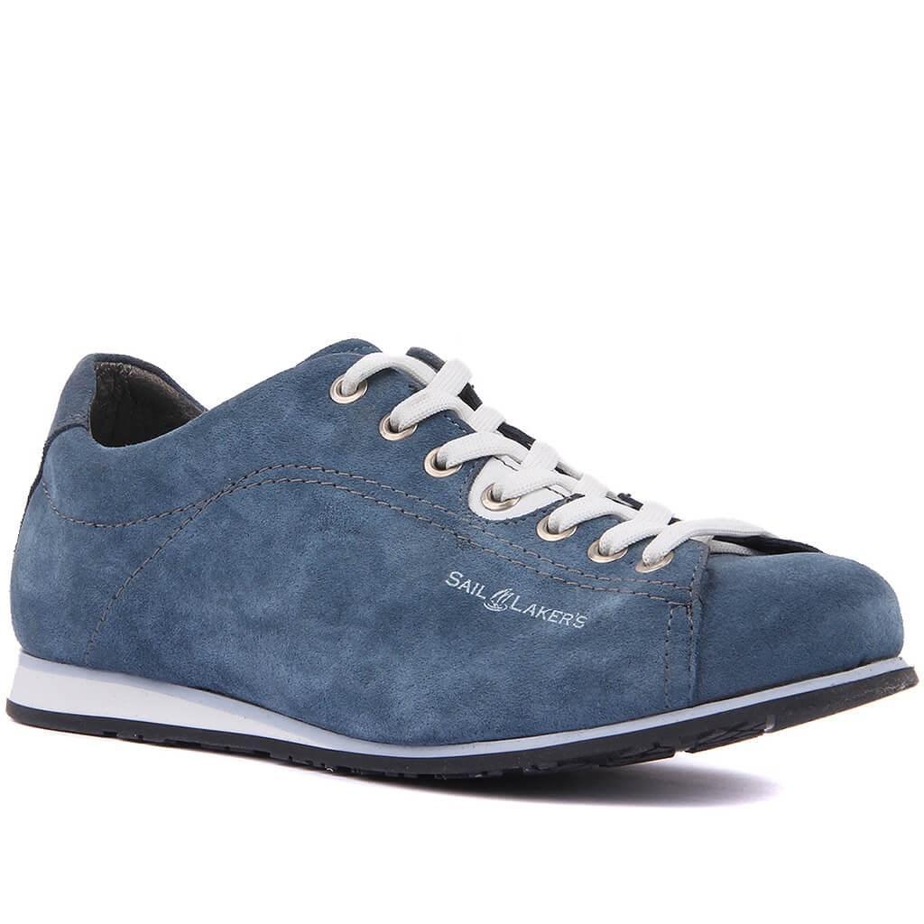 Yelken Lakers-Denim Blue Suede Erkek Günlük Ayakkabılar