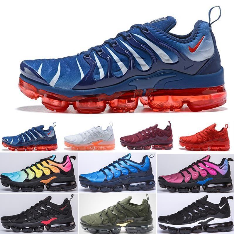 uomini aria TN plus che eseguono Red Metallic Bronze APPENA Volt electric Verde Reale Smokey Malva String Chaussures Trainer Sport Sneakers