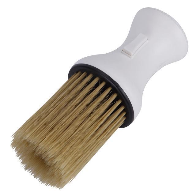 면도 소프트 브러쉬 빗 목 먼지 제거 청소 브러쉬 이발사 미용 스타일링 청소 도구 DIY 홈을 절단 스타일링 액세서리 헤어