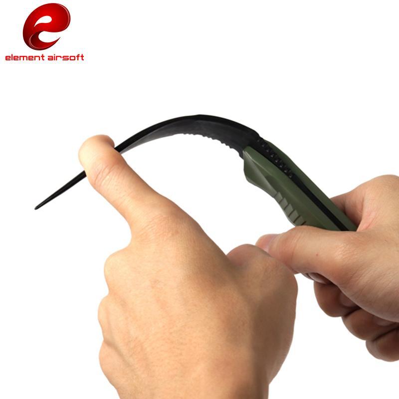 المتحمسون العسكرية هدية عيد ميلاد CS تأثيري الدعامة القتالي التكتيكي سكين النمذجة التدريب المطاط غمد سكين لعبة نموذج السيف