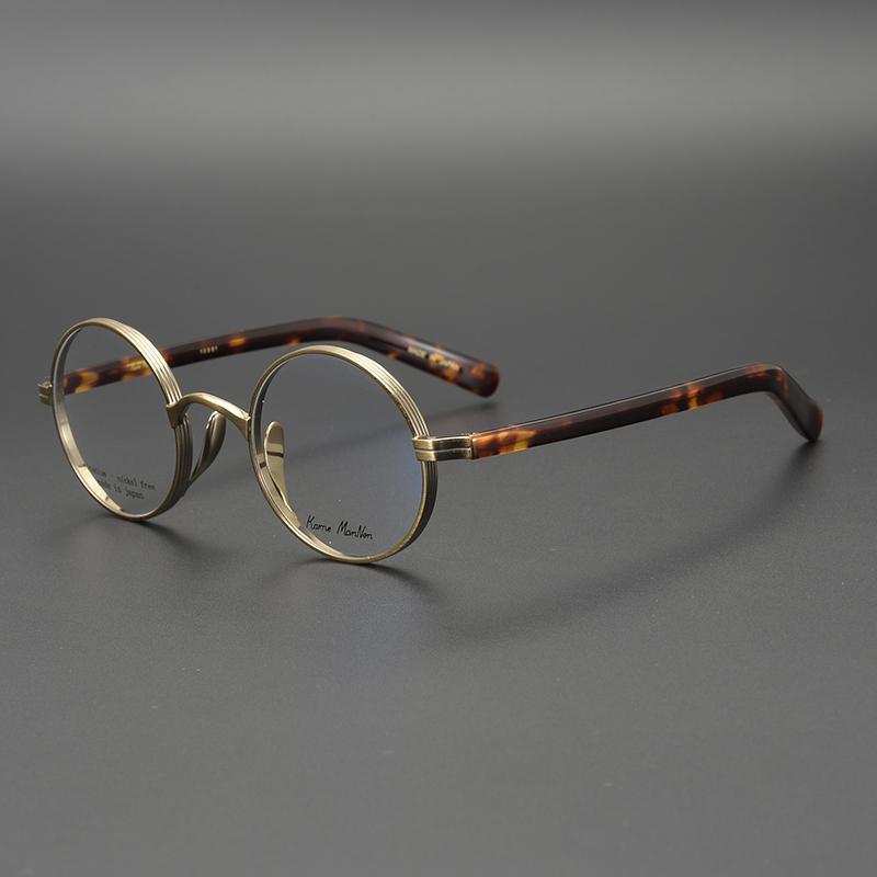 2020 Luxury Vintage Optical Glasses Frame John Lennon Retro Round Eyeglasses For Men And Women Acetate Metal Eyewear Frames From Dashu11 83 9 Dhgate Com