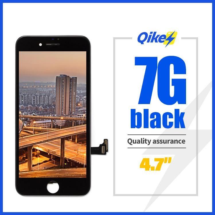 para iphone 7 ecrãs, preto branco para o original iphone 7 lcd, Telefone móvel LCD exibir para iphone tela de 7 toque