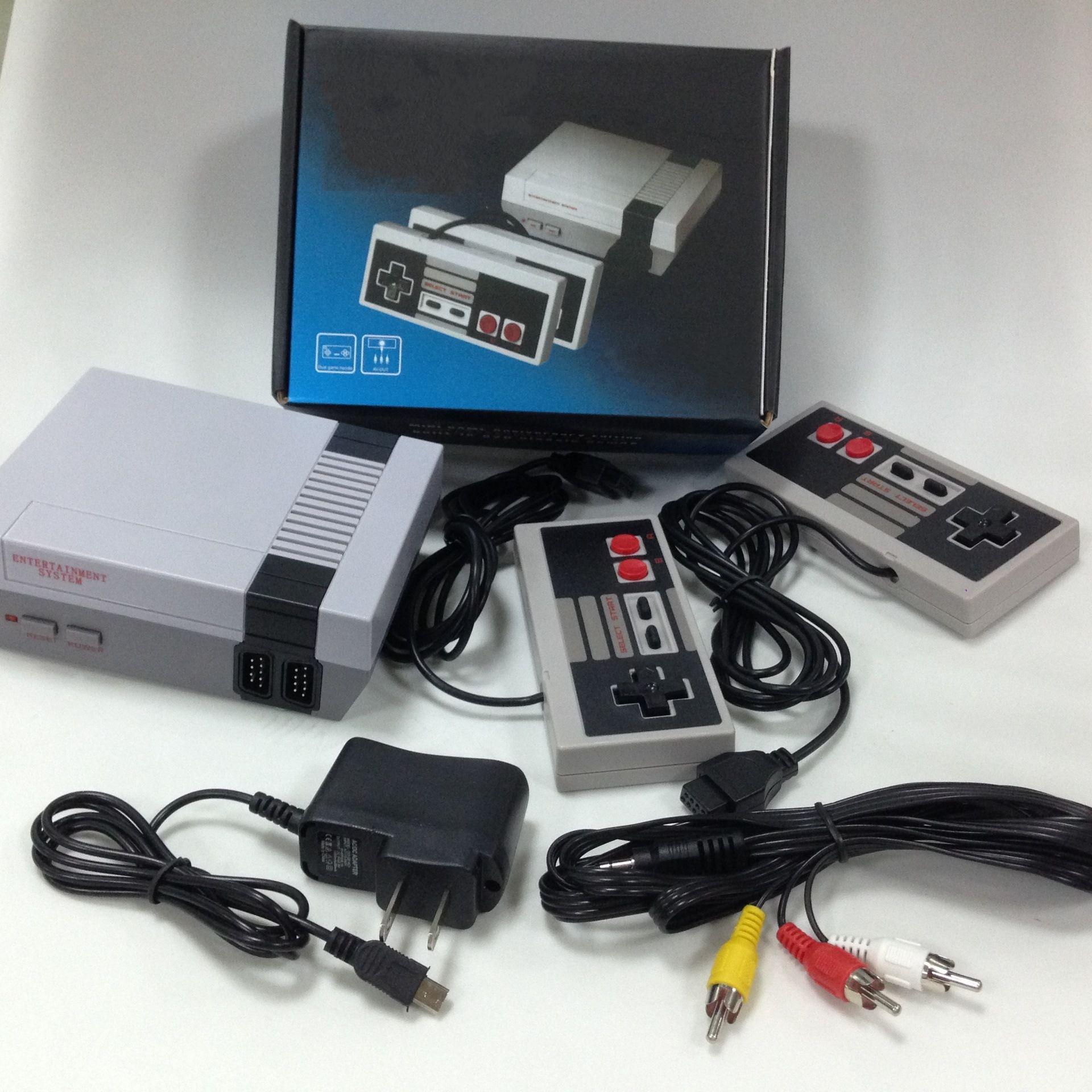 لعبة محمول وحدة 620 نظام الترفيه 500 ألعاب لاعب 8 بت البسيطة TV فيديو مع صندوق البيع بالتجزئة