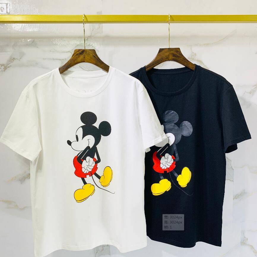 2020 de algodón de alta calidad nueva O-cuello de la manga corta de la camiseta de la marca camisetas de los hombres de estilo casual para los hombres camisetas del deporte del envío. ° 20