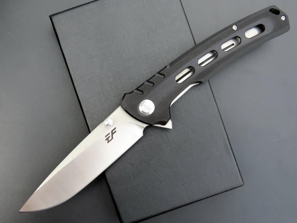 Bıçak Çoklu Araçları Cep Survival şimdi hediye bıçak katlama eafengrow EF30 D2 bıçak G10 kolu Taktik Av