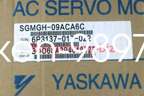 1PC NUEVO Yaskawa AC servo SGMGH-09ACA6C motor #hc