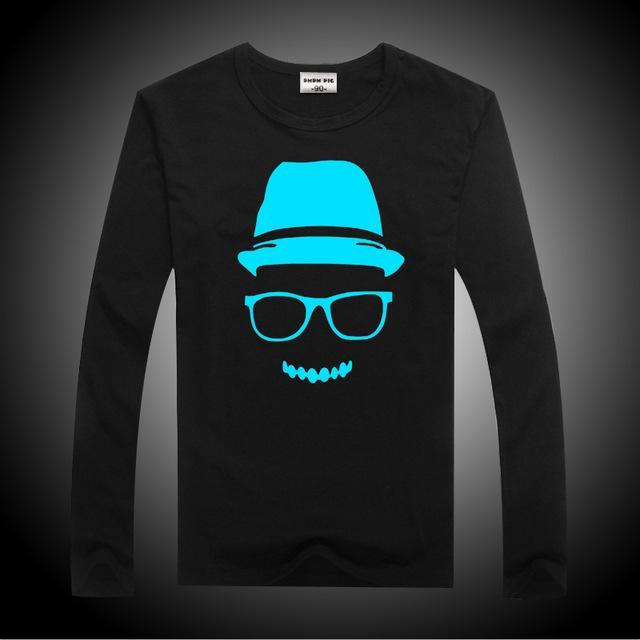 Compre Dmdm Pig Manga Larga Camiseta Niña Luminosa Muchachos De La Camiseta De La Roca Camisetas Para Chicas Adolescentes De Las Camisetas De Los Niños Tops Tamaño 2 3 4 5 7