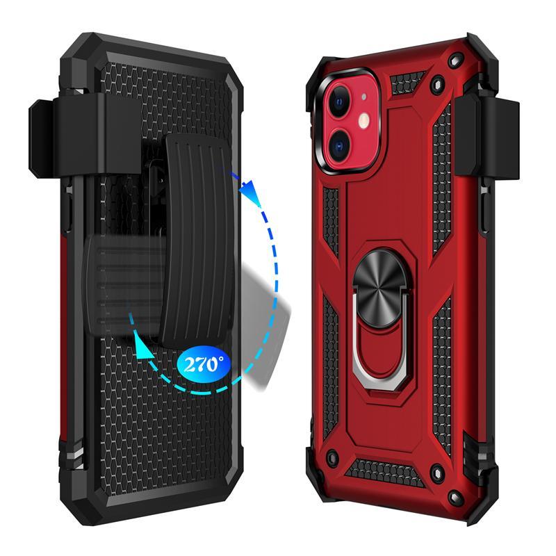 Neue Hybrid-Verteidiger für iphone 11Pro 2019 XR XS Max 8plus S11 S11E S11plus A01 A71 A51 A21 moto g8plus Fälle Rüstung Abdeckung mit Gürtelclip