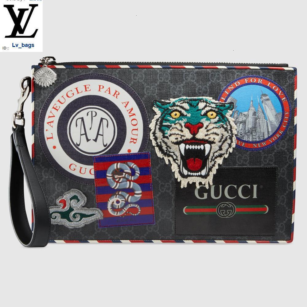 Yangzizhi New Night Courrier Premium Faux Canvas Clutch 496346 Long Wallet Chain Wallets Compact Purse Clutches Evening Key