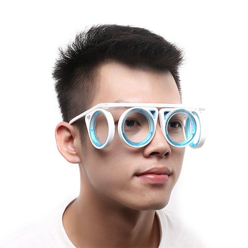 مكافحة دوار الحركة seasickness المحمولة جوا نظارات الأطفال الكبار للجنسين نظارات زرقاء السائل انفصال إطار مرن قابلة للطي