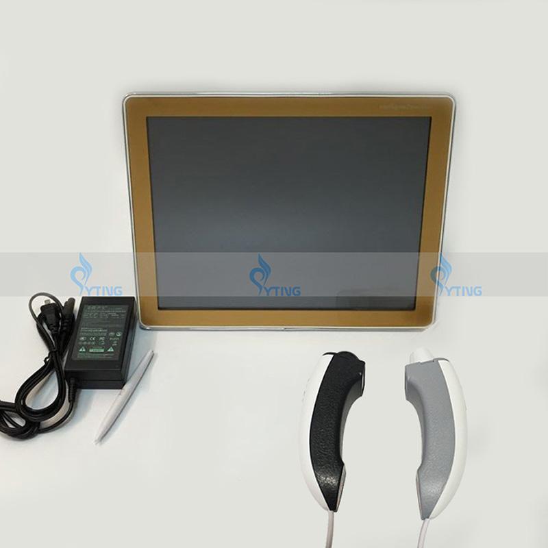 Новый анализ кожи машина волос анализатор салон красоты Оборудование сканер лица устройство высокой чувствительности УФ-Диагностика тестер монитор здоровья