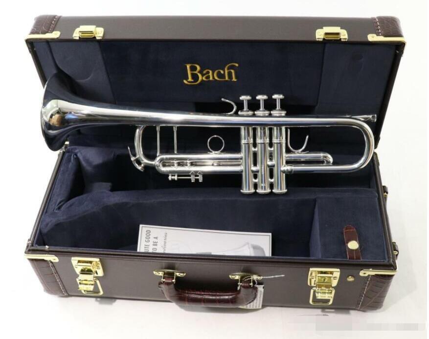 Bach Trompeta Modelo clásico 180S72 Stradivarius Bb Trompeta 'mareado' Bell! SN 764331 sonidos excelentes Condición entregado rápidamente