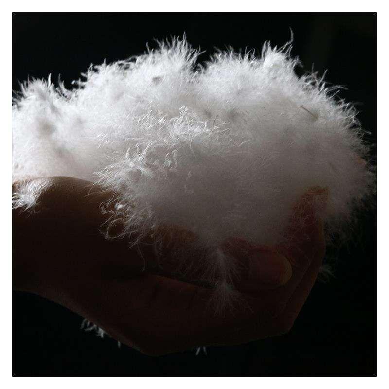 Pato blanco Diao Diao rong abajo directo de fábrica de Nueva GB regado Large White Feather precios al por mayor