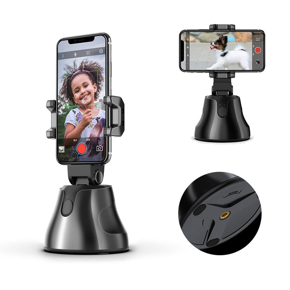 Intelligente Gimbal Stabilisator für Smartphone mit 360 ° Dreht Auto Gesicht Objektverfolgung Vlog Schießen Smartphone Halterung Halter Stativ Selbst