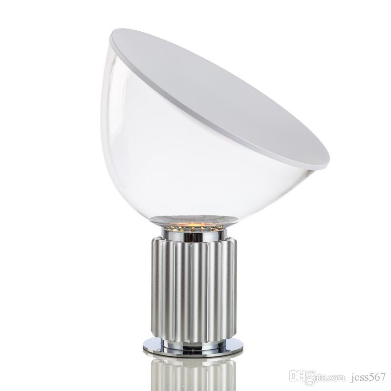 Yeni klasik radar siyah beyaz Alüminyum masa lambası yaratıcı basit moda oturma odası çalışma ve yatak odası okuma lambası LED E27 ampul
