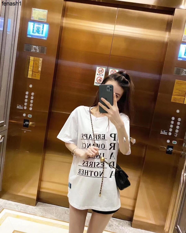 Moda eğlence yaz baskı kısa kollu beyaz T Shirt kadın mektup baskı T-shirt 040502