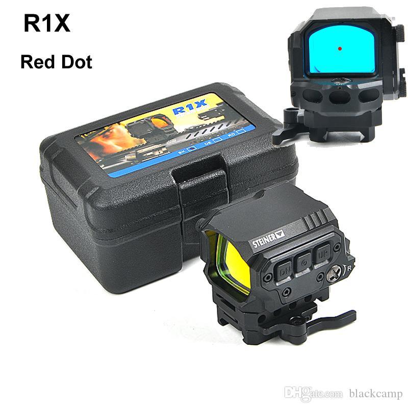 Новое Прибытие R1X Red Dot Sight с Быстросъемным Креплением Reflex Оптический Прицел Охота