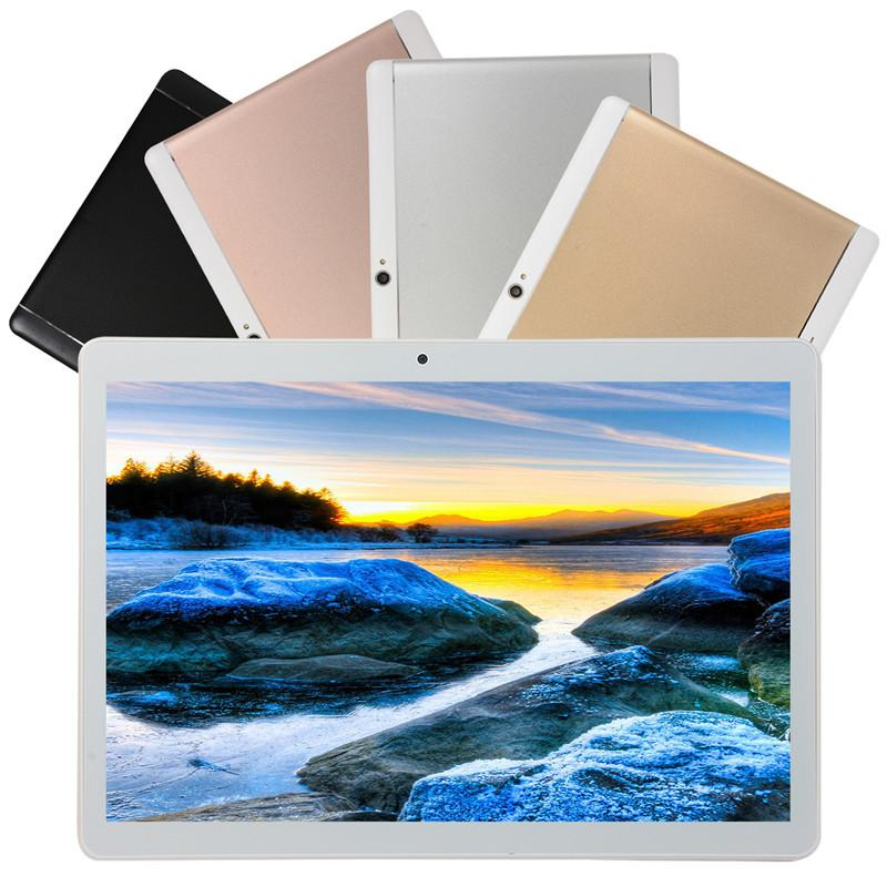Tableta de 10 pulgadas de doble tarjeta de llamada 3G IPS pantalla de alta definición de pantalla táctil de la tableta 16 G GPS Bluetooth libre de DHL