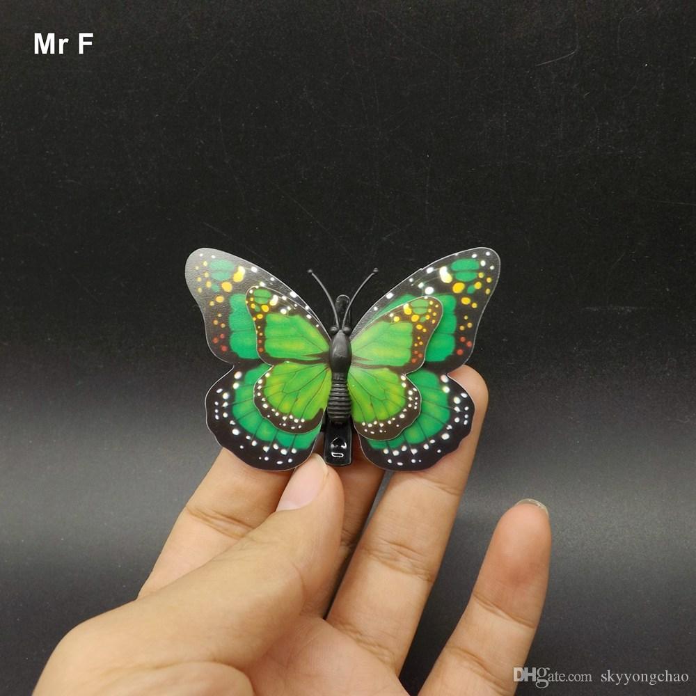 2 camadas DIY clipe borboleta modelo de brinquedo para crianças Kids Jogos
