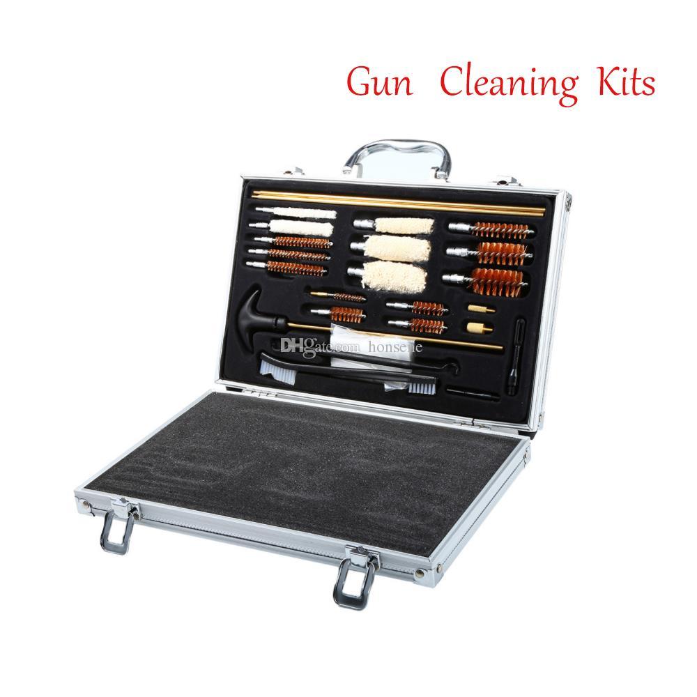 العالمي الصيد مسدس بندقية مسدس مسدس بندقية الأنظف بندقية تنظيف كيت مريحة مع حالة صندوق الصيد الملحقات-بندقية تنظيف كي