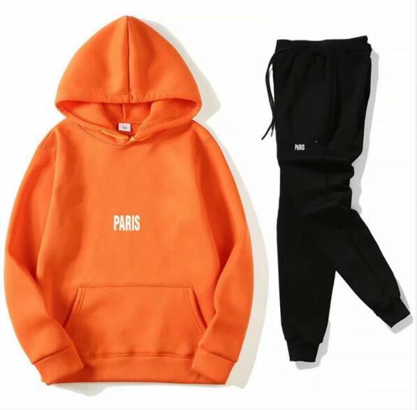 Hot sale Tracksuit Men fashion Sweat Suits spring Brand Mens Tennis sport Suits Jacket Hoodies + Pants Sets Sporting man Suit Hip Hop Sets
