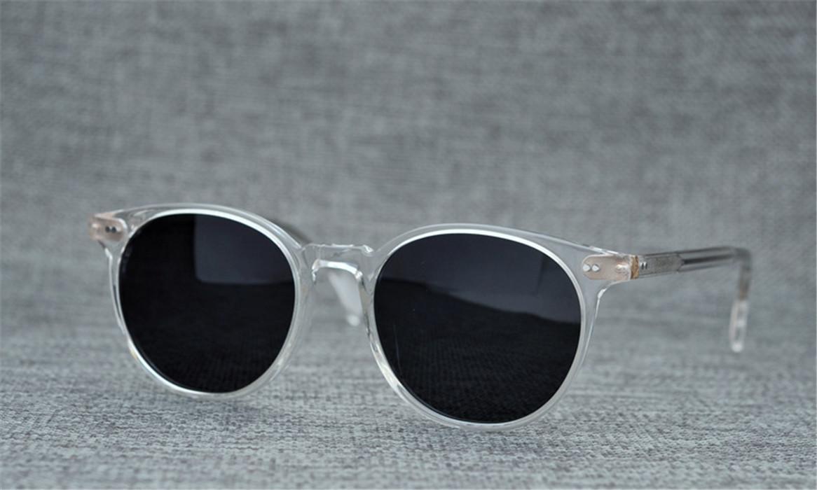 الحار! الرجال والنساء خمر النظارات الشمسية العلامة التجارية الشهيرة OV5314SU غريغوري بيك الاستقطاب النظارات الشمسية النظارات المستديرة النظارات PAUL سكوت 001