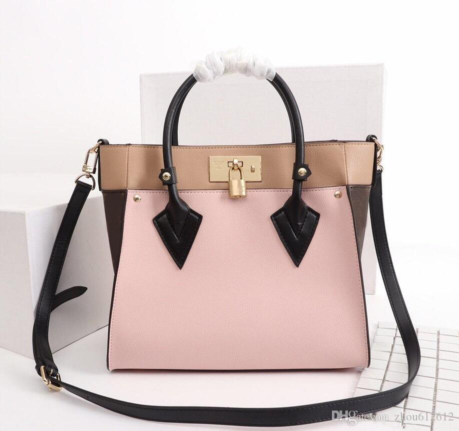 Tasche Modern M53824 Handtasche Schulter M53823 Single-Schulter-Nachrichtenkette Taschen Versand Beste Lady Dame Handtaschen mit freier Straps QWGKL
