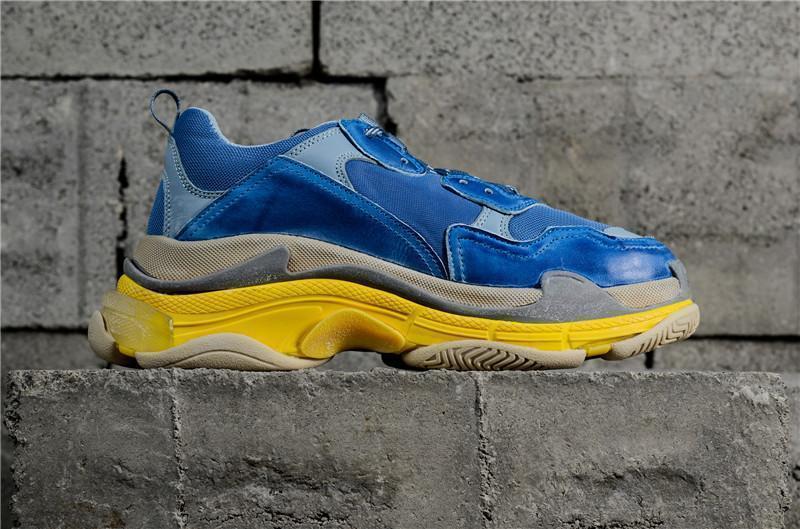 Мульти роскошный трехместный с низкой дизайнер новое поступление кроссовок 1Combination подошве сапоги мужские Женская обувь Бегун высокое качество спортивные повседневные туфли