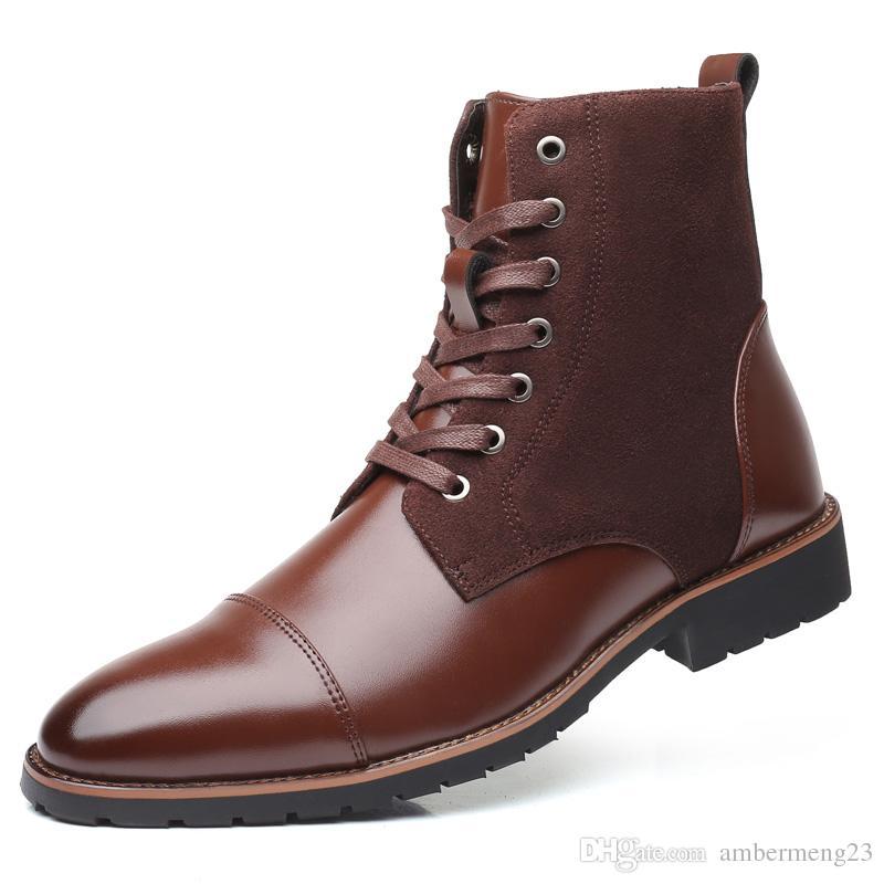47 48 размер сапоги новый высокое качество кожа мужская Повседневная обувь плоские Привет-топ кроссовки черный коричневый глава змея Pattern открытый Run