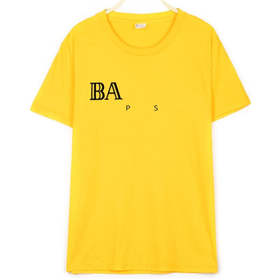 Baumwolle Herren T Shirts Ball-Fan Nummer 13 Brief-Druck-T-Shirt Solid Color Lässige Kurzarmshirts Harajuku Hemd Korean Herrenbekleidung # 450