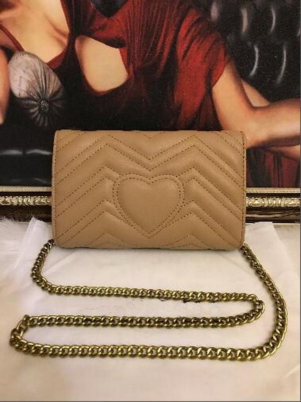 Frauen Umhängetasche Pu Dame Leder Handtasche Mode Gold Kette Kreuz Körper Reine Farbe Weibliche Geldbörse Top Qualität