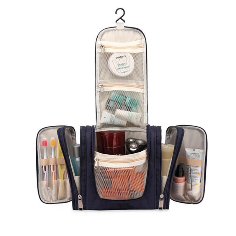 Große Kosmetikerin Hängen Kosmetiktasche Organizer Eitelkeit Make-up Waschen Fällen Box Reise Notwendige Toilettenartikel Werkzeuge Lagerung Zubehör