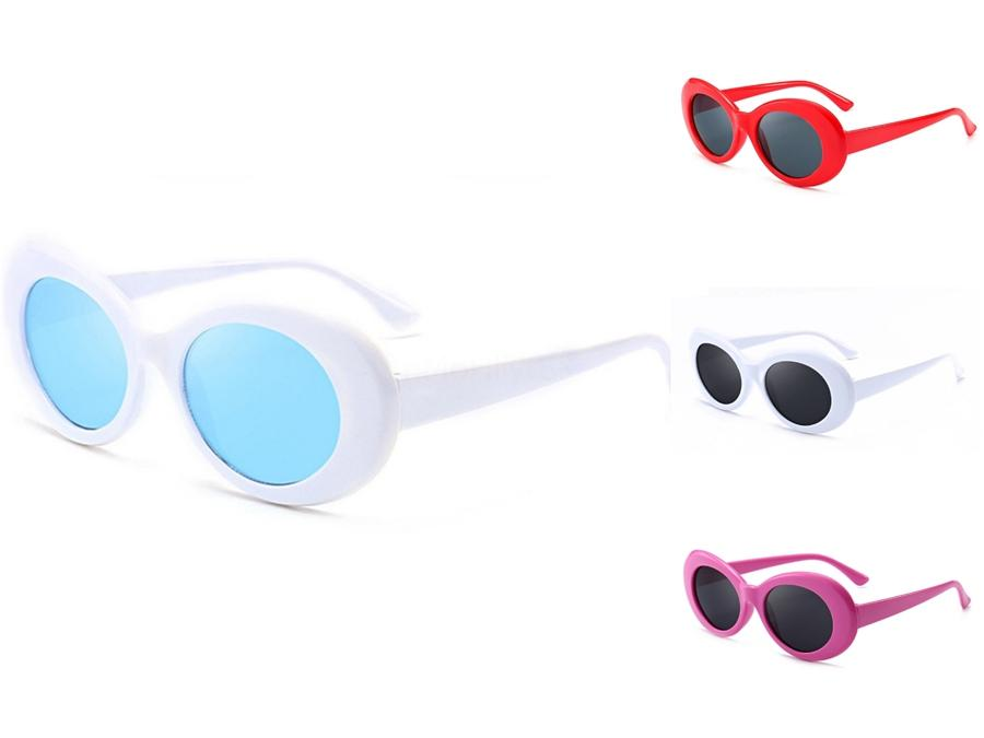 Mulher Summer Fashion metal outdoor vento Hiphop Sunglasee Driving Sunglass Lady Sunglass Praia Proteção Hiphop Sunglasee 9colors grátis # 27534