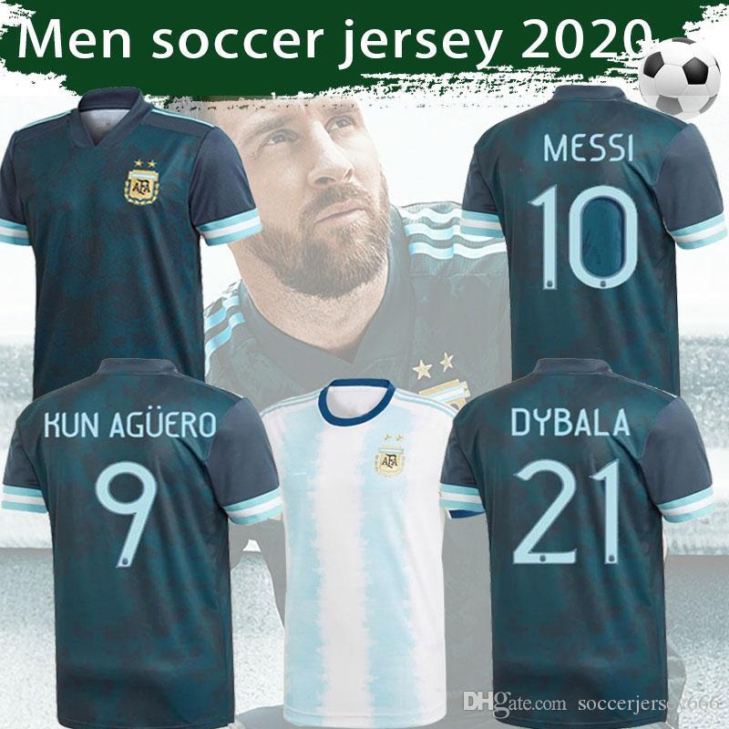 ARGENTINA Mens Football T-Shirt Womens World Cup 2019 Copa America Retro Shirt