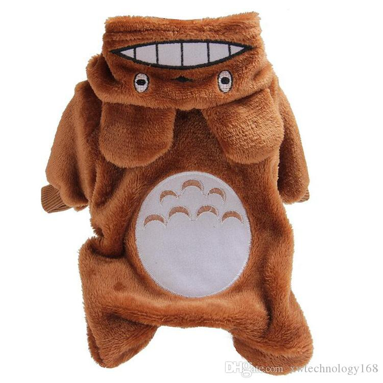 Pet Clothes for Dog Cat Puppy Hoodies Coat Winter Sweatshirt Warm Sweater Dog Outfits Soft Cloth New Design 1PCS Retail
