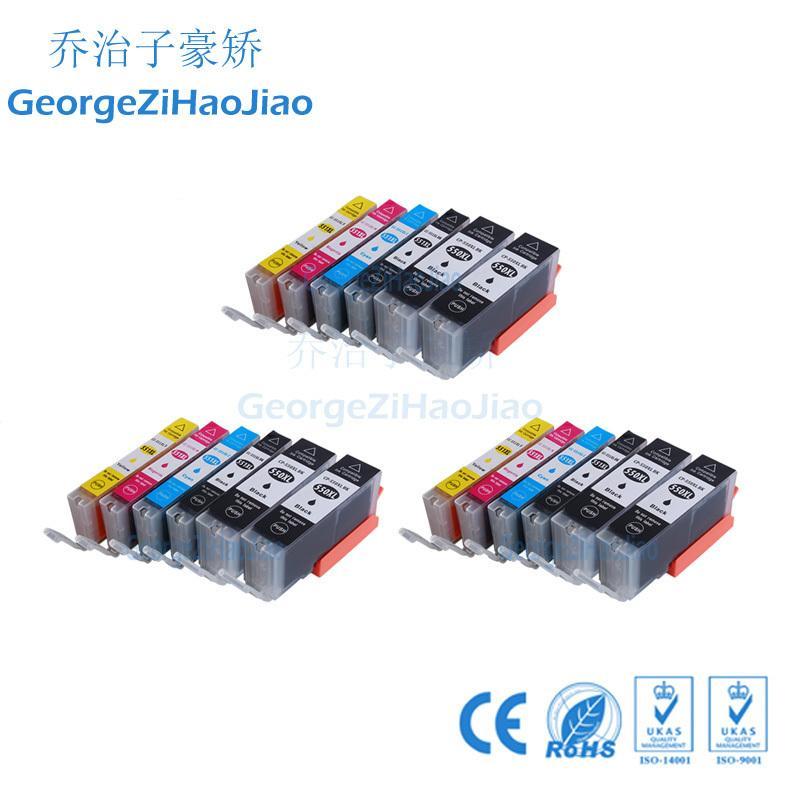 18 adet 550XL canon PGI550 PIXMA için Uyumlu Mürekkep Kartuşu IP7250 MG5450 MX925 MG5550 MG6450 MG5650 MG6650 MX725