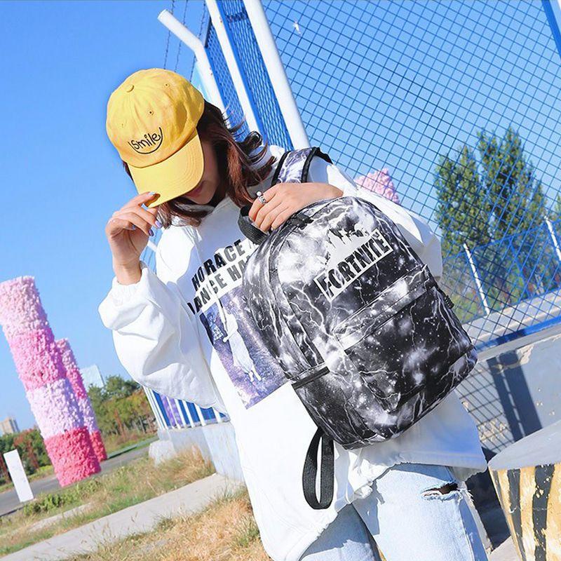 Stampa a Bag nuovo arriva Fortnite scuola Borse Borsa a tracolla personalizzato di grande volume di gioco Scuola di Moda Personalizzata Studente di scuola libero del sacchetto