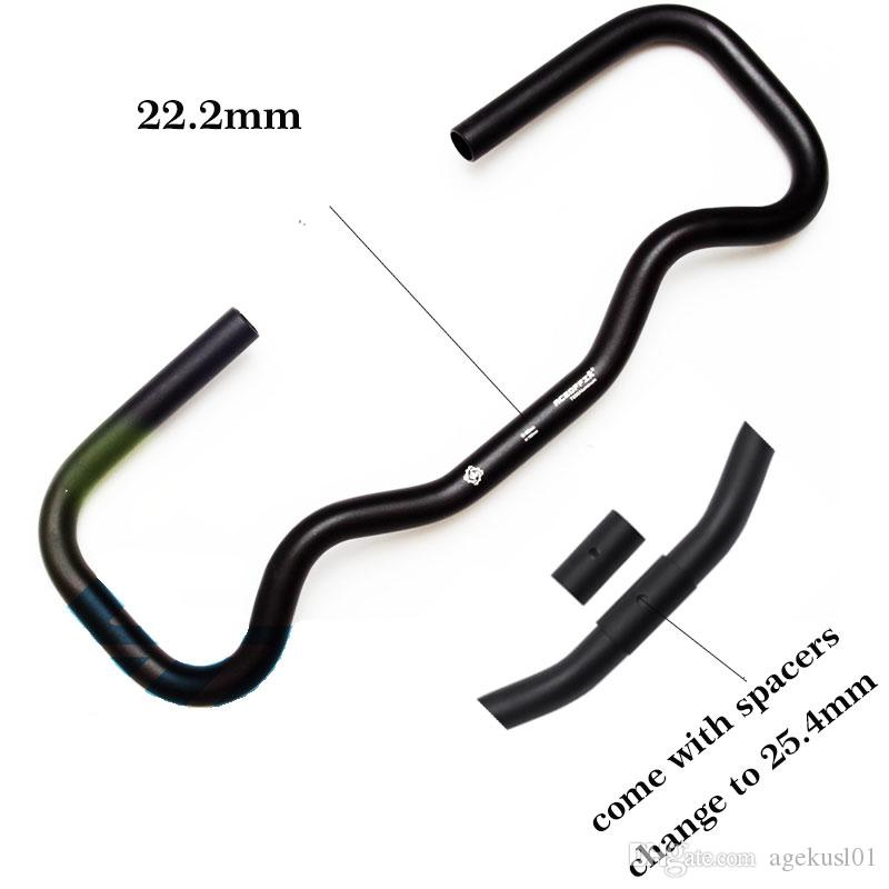 AGEKUSL Bike P Handlebar For Brompton Bicycle S//M//P Type Stem Cruiser Bar 25.4mm