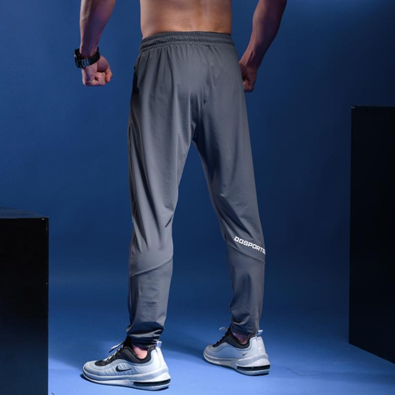 Compre Pantalones Running Hombre Deportes Athletic Football Sweatpants Deporte Pantalones De Jogging De Formacion Deportiva Elastico Quick Dry Pantalones A 17 09 Del Yarqi Dhgate Com