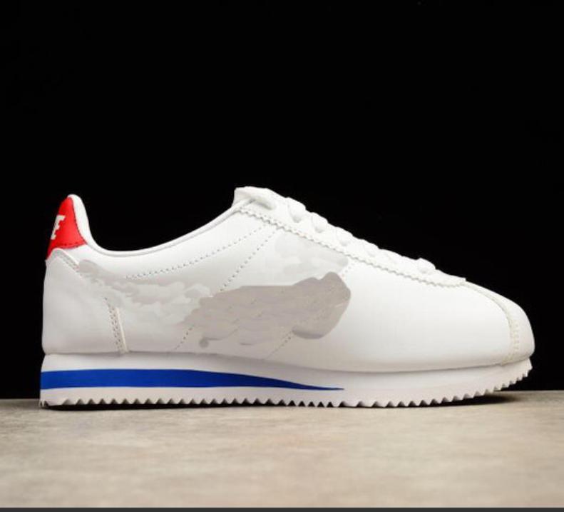 New Hot Sale Mens Женщины Спортивный Классический Cortez Nylon PRM вскользь тапки Adlut Розовый Черный Белый Красный Синий Легкий Спорт Run обувь 36-45