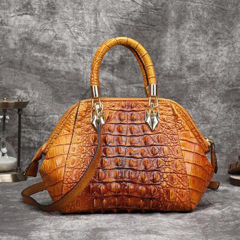 Из натуральной кожи сумки женщин моды кожа Crossbody сумки Женщины Сплошной ретро плечо сумка